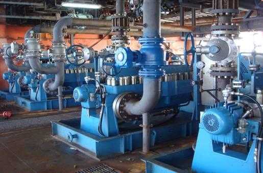 中海石油(中国)有限公司SZ36-1A平台注水泵调整