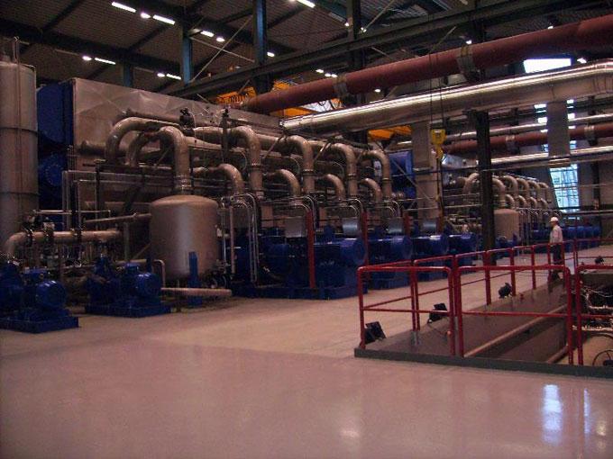 欧洲冰岛地热发电厂
